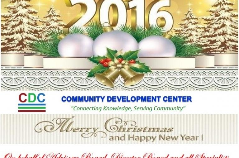 Chúc Mừng Giáng Sinh và Chào Đón Năm Mới 2016