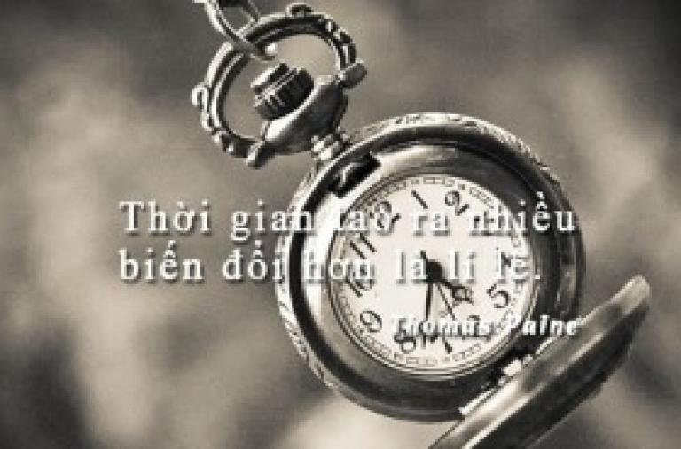 Danh ngôn về thời gian