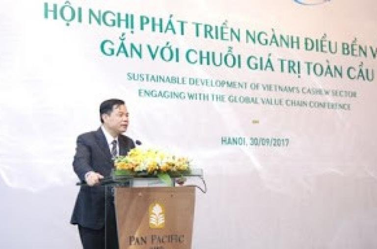 Hội nghị phát triển ngành điều bền vững gắn với chuỗi giá trị toàn cầu