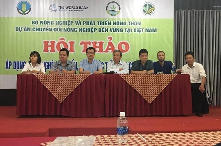 Hội thảo áp dụng công nghệ tiên tiến, tưới tiết kiệm nước cho cây cà phê