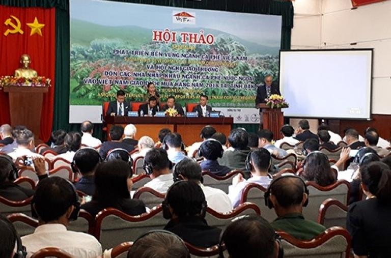 Tìm lời giải cho phát triển cà phê bền vững Việt