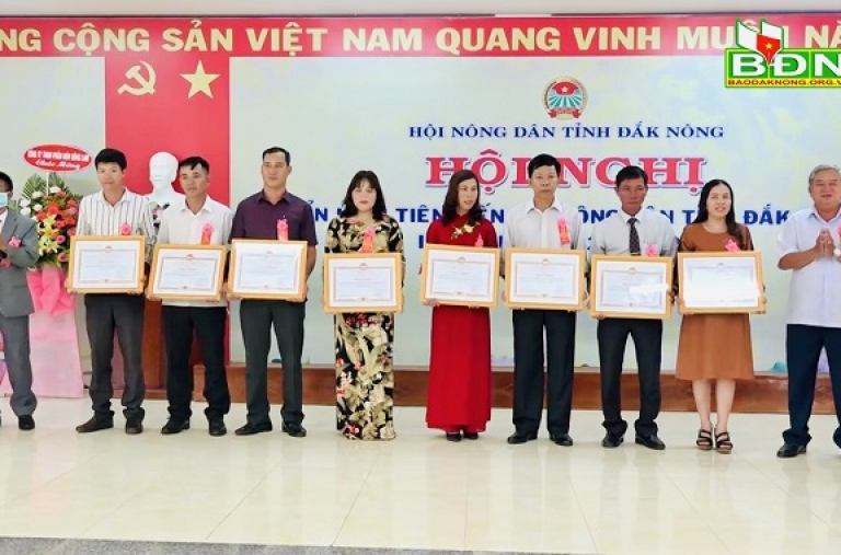 Hội Nông dân tỉnh Đắk Nông tổ chức Hội nghị điển hình tiên tiến lần thứ IV (2020 – 2025)