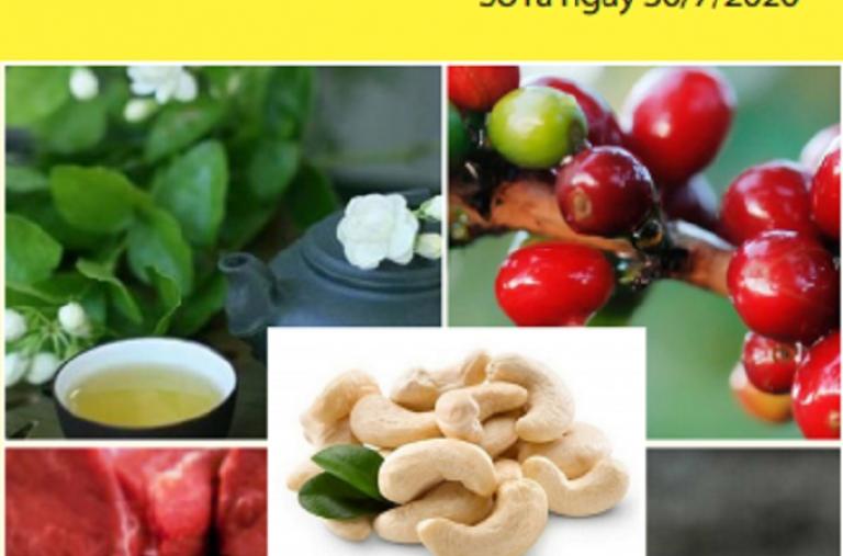 Bản tin thị trường nông, lâm, thủy sản số 30/07/2020