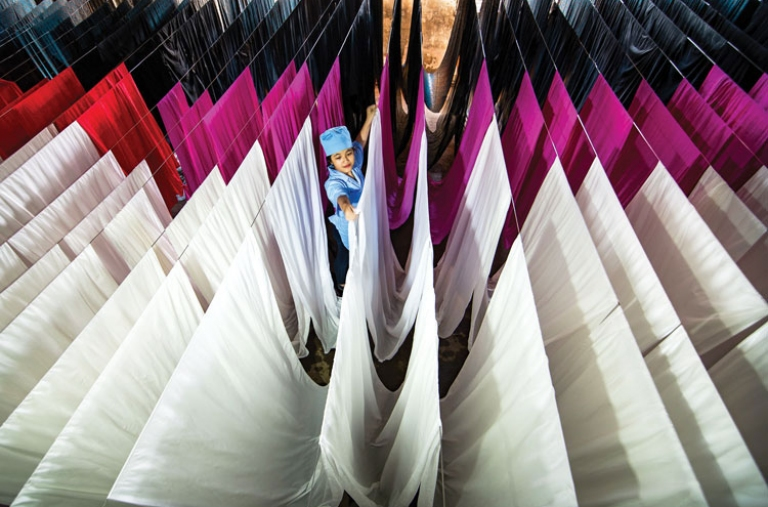 Khắc phục khó khăn trước đại dịch COVID-19 để ngành tơ lụa Lâm Đồng vươn xa tham gia chuỗi giá trị toàn cầu