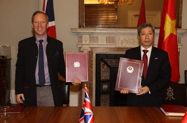 Từ 23h ngày 31/12, Hiệp định UKVFTA chính thức có hiệu lực
