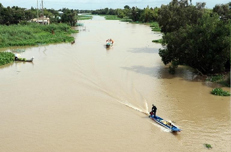 Lưu vực sông Cửu Long chuyển từ mùa khô sang mùa mưa năm 2021