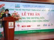 Ông Trần Việt Hùng Phó Ban Thường Trực Ban Chỉ Đạo Tây Nguyên Phát Biểu Tại Buổi Lễ