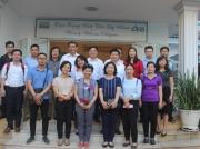 Đoàn cán bộ của Tổ chức CARE Việt Nam và Sở NN & PTNT Tỉnh Sơn La, Điện Biên thăm và làm việc tại CDC