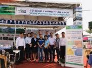 Đoàn Chuyên gia từ Tập đoàn JDE thăm gian hàng CDC